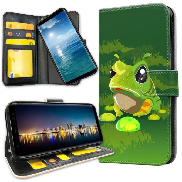 Samsung Galaxy S8 - Plånboksfodral Groda