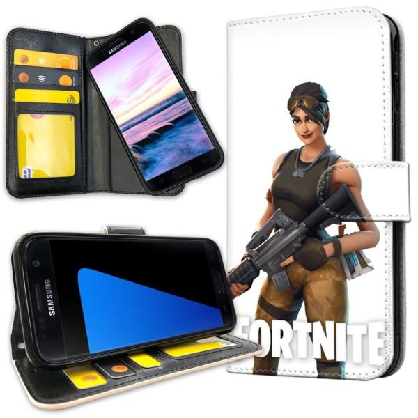 Samsung Galaxy S7 Edge - Plånboksfodral Fortnite