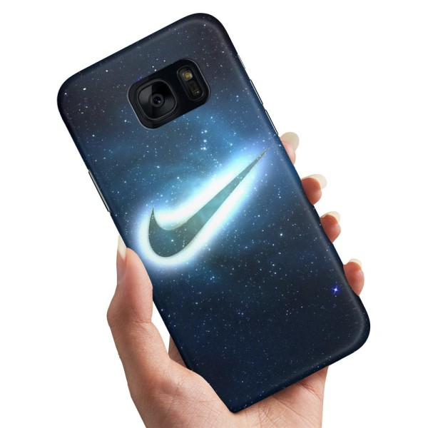 Samsung Galaxy S7 - Skal / Mobilskal Nike Yttre Rymd