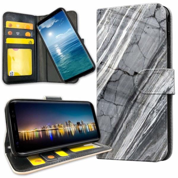 Samsung Galaxy S8 - Plånboksfodral Marmor
