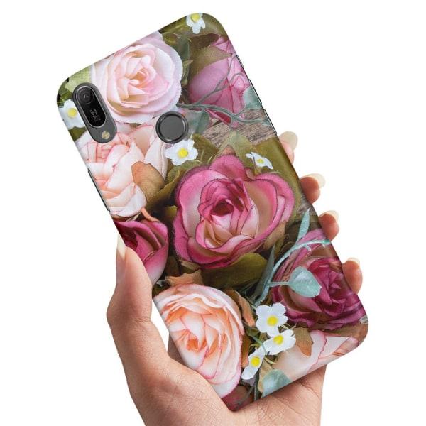 Samsung Galaxy A20e - Skal / Mobilskal Blommor