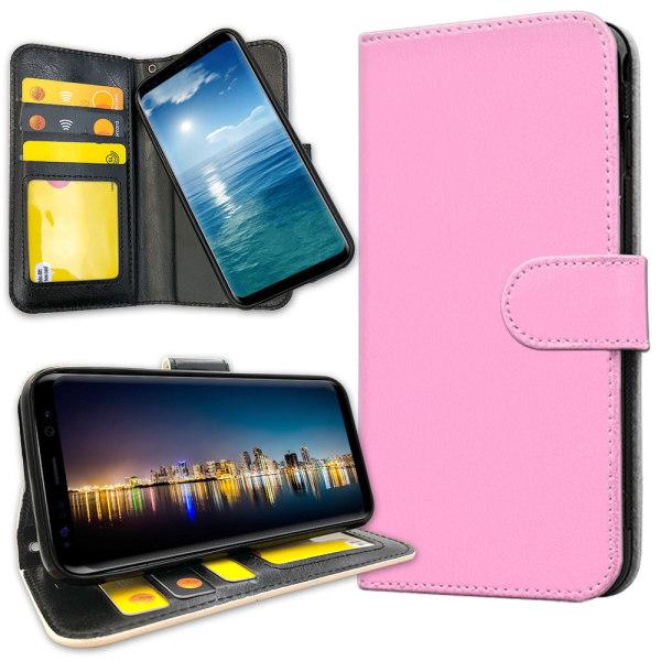 Samsung Galaxy J4 Plus - Plånboksfodral Ljusrosa Ljusrosa