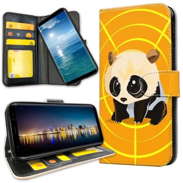 Samsung Galaxy S8 - Plånboksfodral Panda