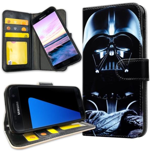 Samsung Galaxy S7 Edge - Plånboksfodral Darth Vader