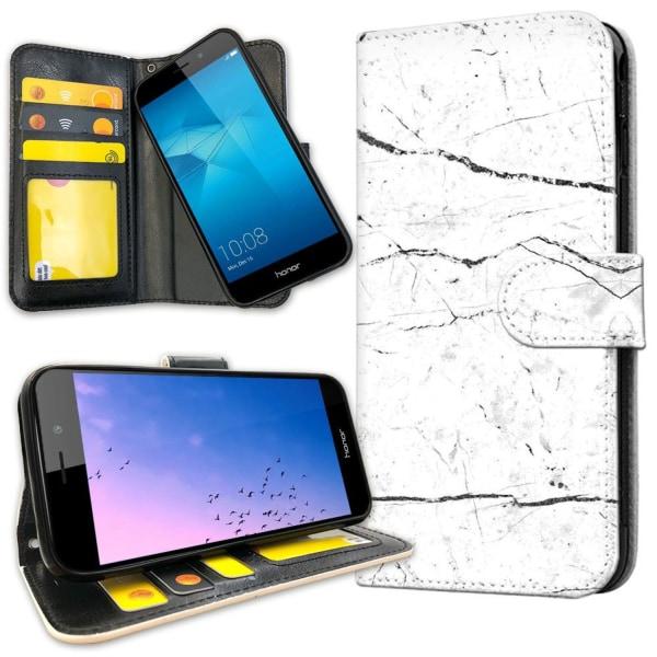 Huawei Honor 7 - Plånboksfodral Marmor