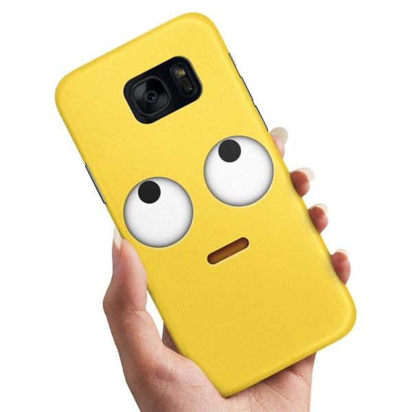 Samsung Galaxy S6 Edge - Skal / Mobilskal Emoji / Smiley