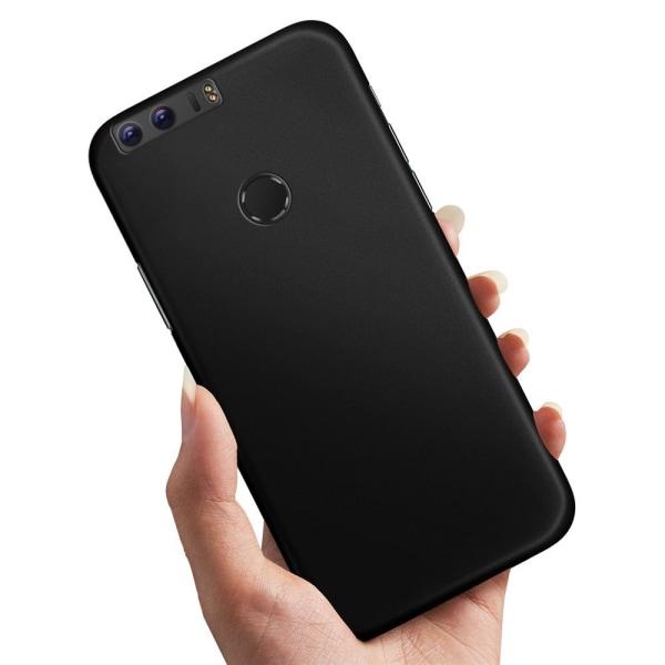 Huawei Honor 8 - Skal / Mobilskal Svart Svart