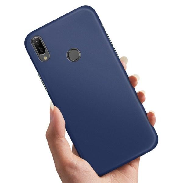 Huawei Y6 (2019) - Skal / Mobilskal Mörkblå Mörkblå