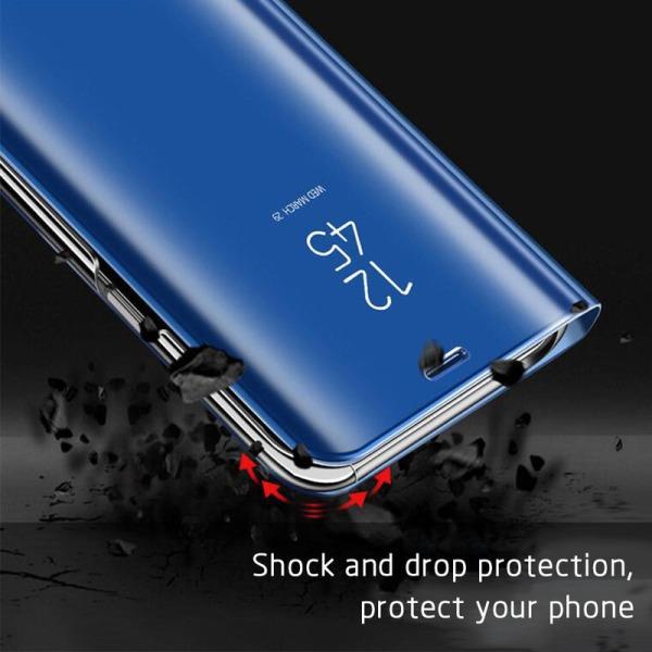 Samsung Galaxy A41 - Mobilfodral / Fodral Spegel - Välj färg Svart