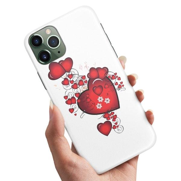 iPhone 11 - Skal / Mobilskal Hjärtan