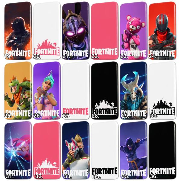 iPhone 5/5S/SE - Fortnite Skal / Mobilskal - 36 Olika Motiv 13