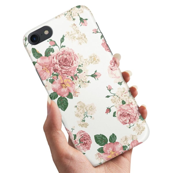 iPhone 6/6s Plus - Skal / Mobilskal Retro Blommor