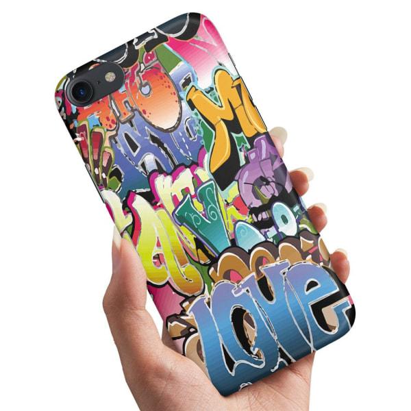 iPhone 8 - Skal / Mobilskal Graffiti