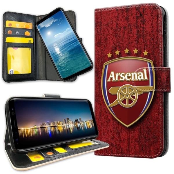 OnePlus 5T - Plånboksfodral Arsenal