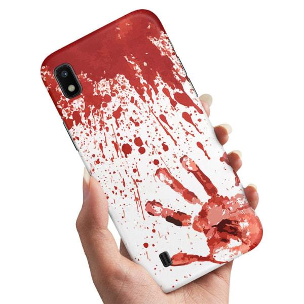 Samsung Galaxy A10 - Skal / Mobilskal Blodstänk