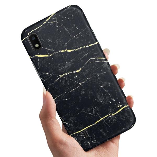 Samsung Galaxy A10 - Skal / Mobilskal Marmor
