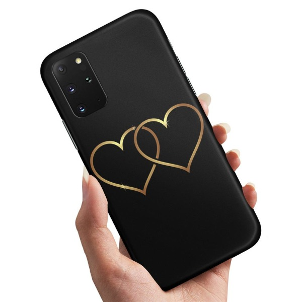 Samsung Galaxy A51 - Skal / Mobilskal Double Hearts