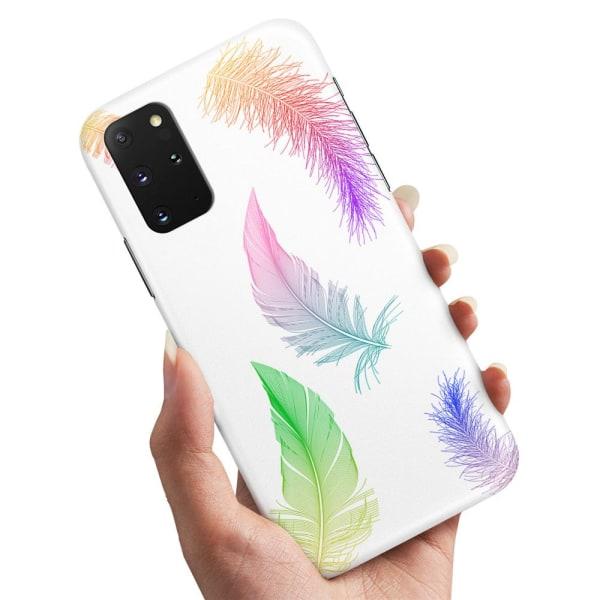 Samsung Galaxy A51 - Skal / Mobilskal Fjädrar