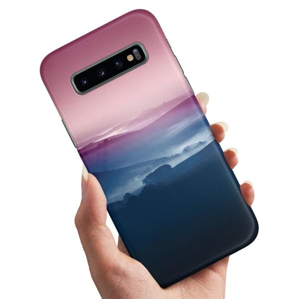 Samsung Galaxy S10 - Skal / Mobilskal Färgrika Dalar