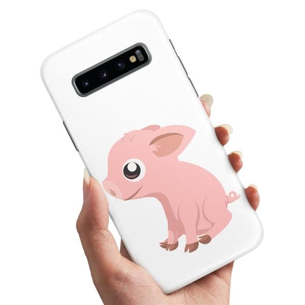 Samsung Galaxy S10 - Skal / Mobilskal Minigris