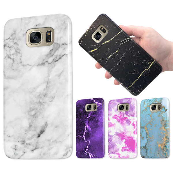 Samsung Galaxy S6 Edge - Marmor Skal / Mobilskal - Över 60 Motiv 18
