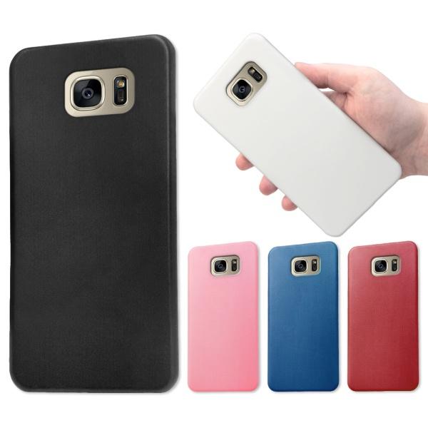 Samsung Galaxy S6 Edge Plus - Skal / Mobilskal - Flera färger Mörkröd