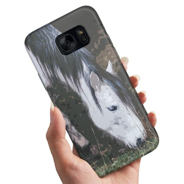 Samsung Galaxy S6 Edge - Skal / Mobilskal Häst