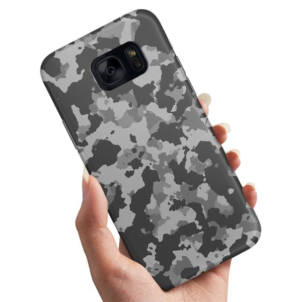 Samsung Galaxy S6 Edge - Skal / Mobilskal Kamouflage