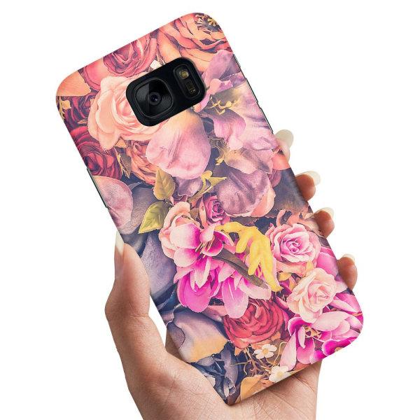Samsung Galaxy S6 Edge - Skal / Mobilskal Roses
