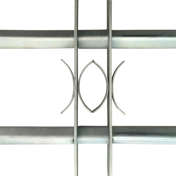 Justerbart Fönstergaller för fönster med 2 stänger 500-650 mm