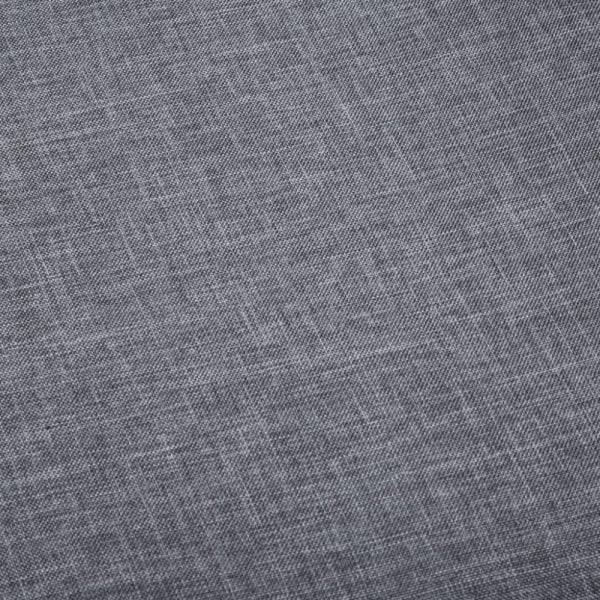 Matstolar 4 st mörkgrå tyg