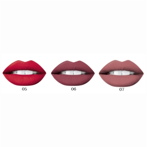 Oh My Lips Liquid Matt Lipstick And Lip Liner 06 Cashmere Rose