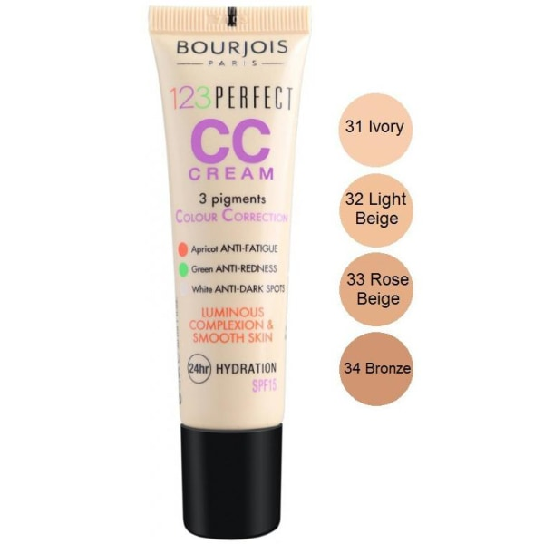 Bourjois Paris 123 Perfect CC Cream - 33 Rose Beige