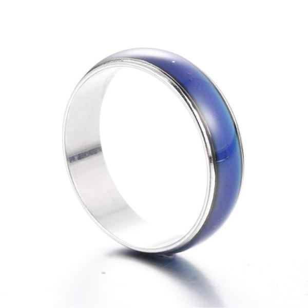 Humörring / Humörsring / Moodring / Känsloring / Ring - Stl 20 Silver