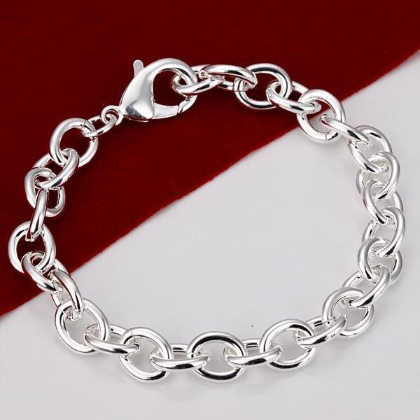 Silver Armband - Stilren & Vacker Design på Kedja / Länk Silver