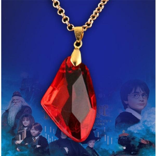 Harry Potter Halsband - Sorcerer's / Philosopher's Stone Guld