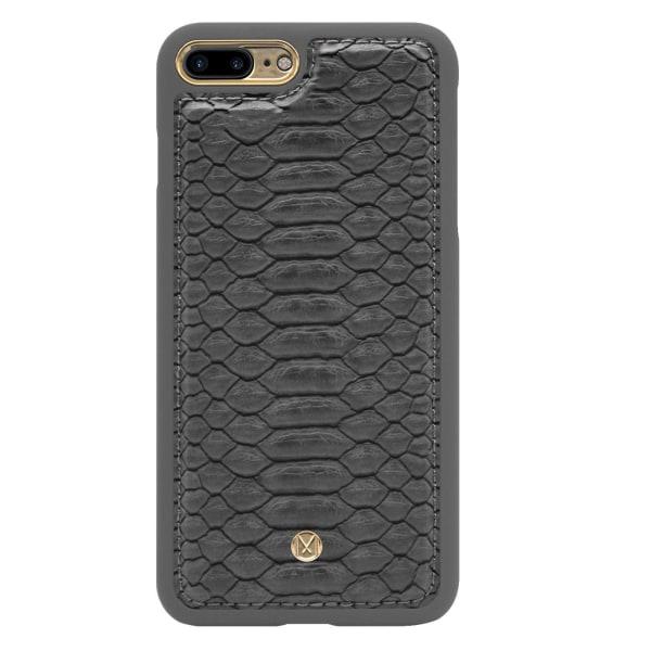 iPhone 7/8 Plus Marvêlle Magnetiskt Skal & Plånbok Mörkgrå