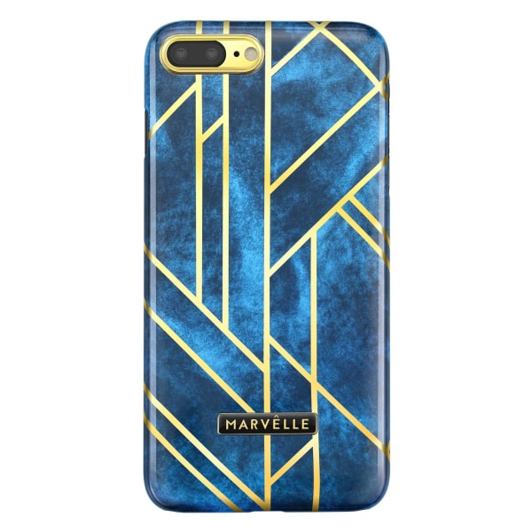 iPhone 7/8 Plus Marvêlle Magnetiskt Skal Velvet Blue Mörkblå