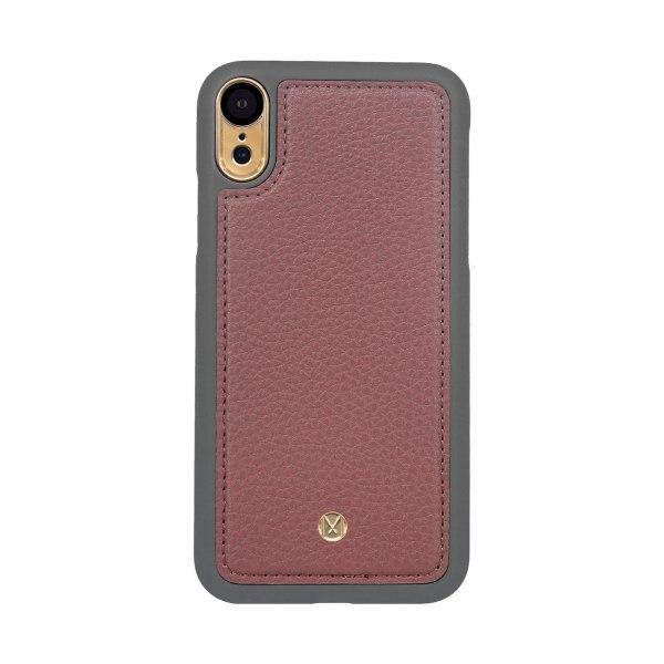 iPhone XR Marvêlle Magnetiskt Skal & Plånbok Mörkrosa Gammal rosa