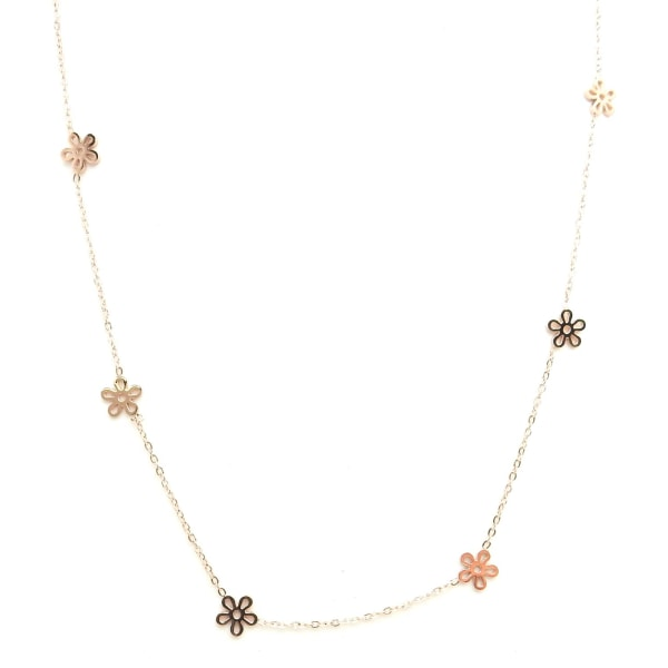 Friman Halsband Mix blomma 40-45cm Rose