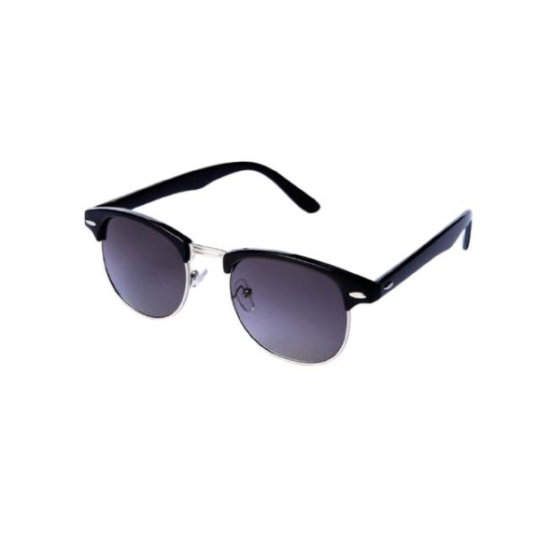 Solglasögon 60´s Svarta   Inkl fodral Unisex modell Svart