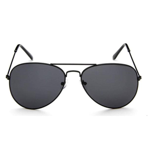 Solglasögon Barn Pilot Svart Svart