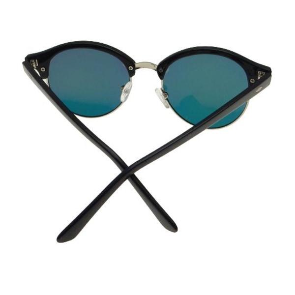 Solglasögon Retro Polariserade Guld Spegel| Ink fodral Guld