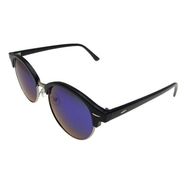 Solglasögon Retro Polariserade Spegel   Ink fodral Blå