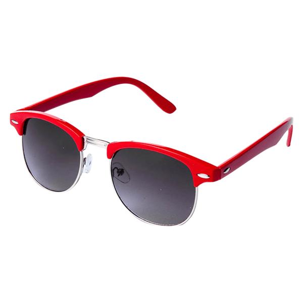 Solglasögon retro  Röd | Inkl fodral Röd