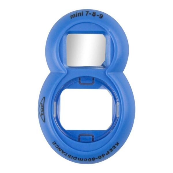 Selfielinse med Spejl, Instax Mini 7s/8/8+/9 - Blå Blue