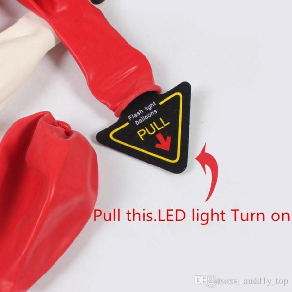 LED balloner Multicolor