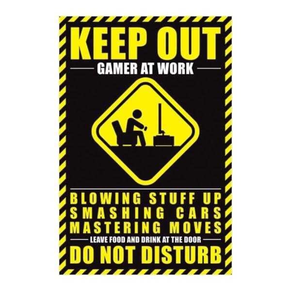 Gamer At Work, Plakat - 61 x 91.5 cm Multicolor