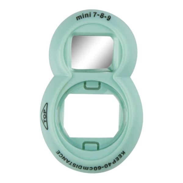 Selfielinse med Spejl, Instax Mini 7s/8/8+/9 - Lyseblå Light blue