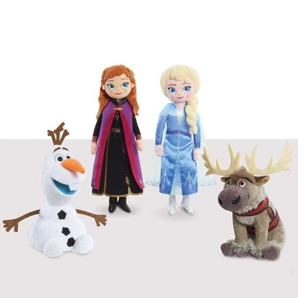 Disney, Frozen 2 / Huurteinen Seikkailu 2, Puhuva nukke - Olaf Multicolor